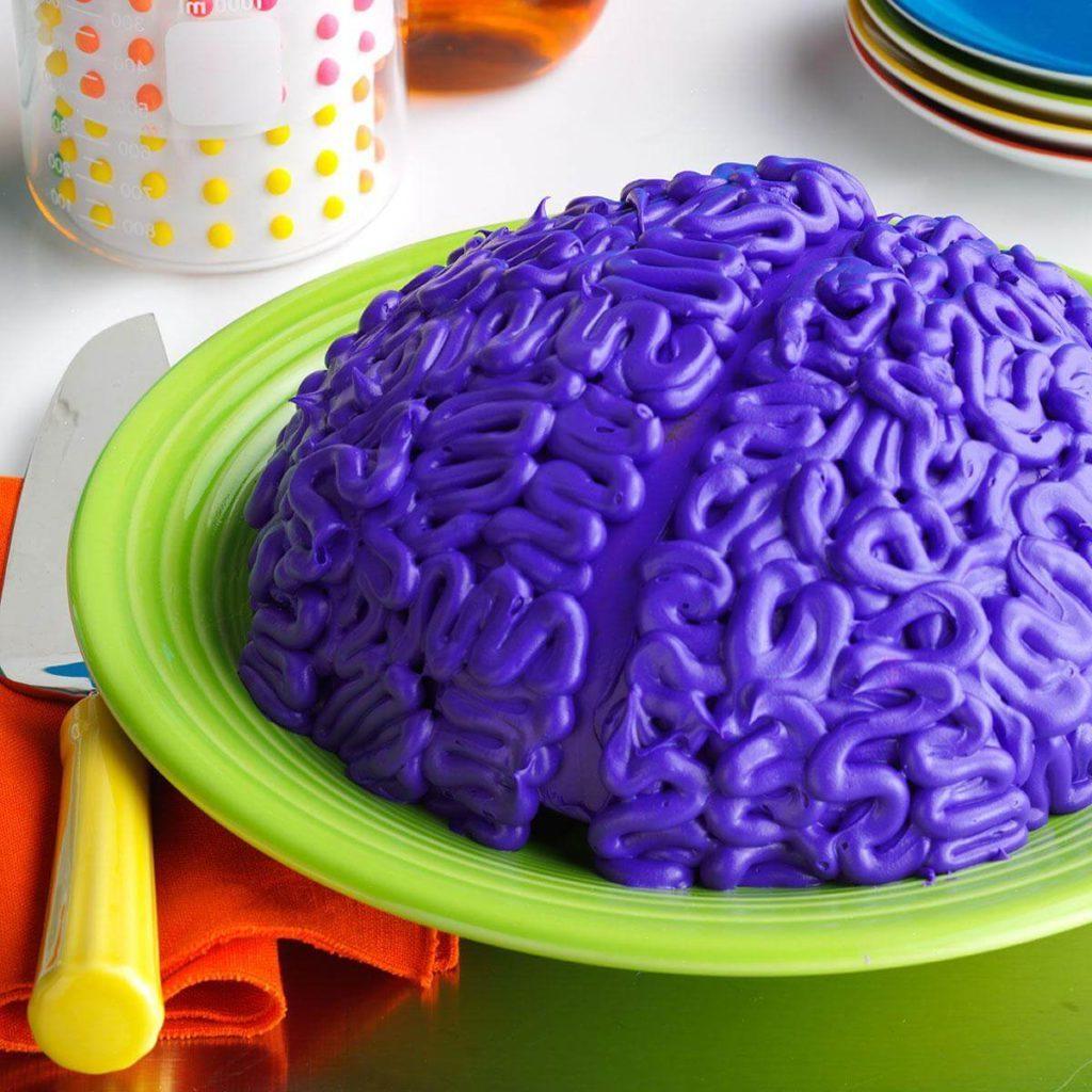 Kinder Halloween Kuchen DIY Idee