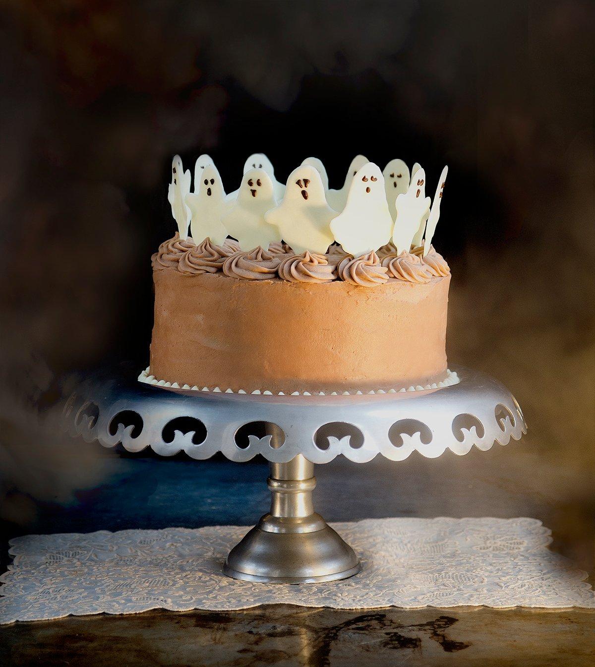 Geister Kuchen zu Halloween