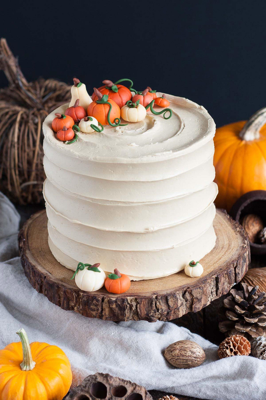 Halloween Essen - Halloween Torte selber machen
