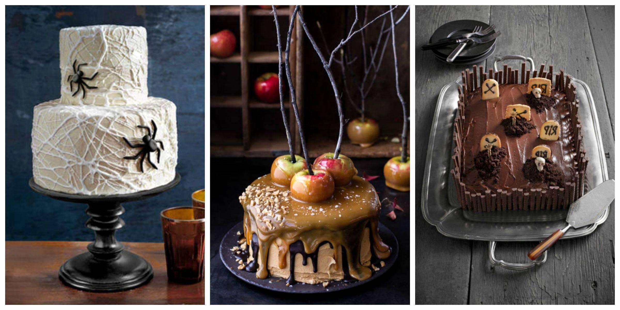 Kuchen zu Halloween zubereiten - Rezepte und Ideen
