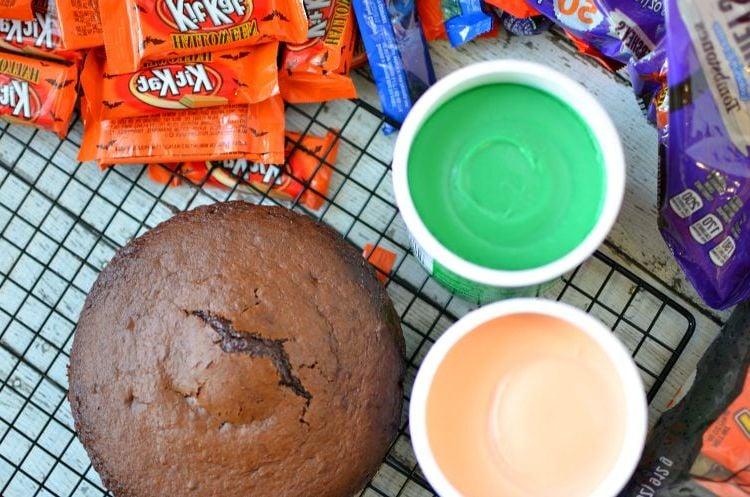Halloween Backen Rezepte - Kürbis Torte selber machen