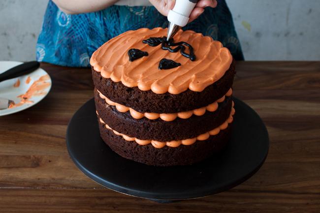 Halloween Kuchen Torte selber machen