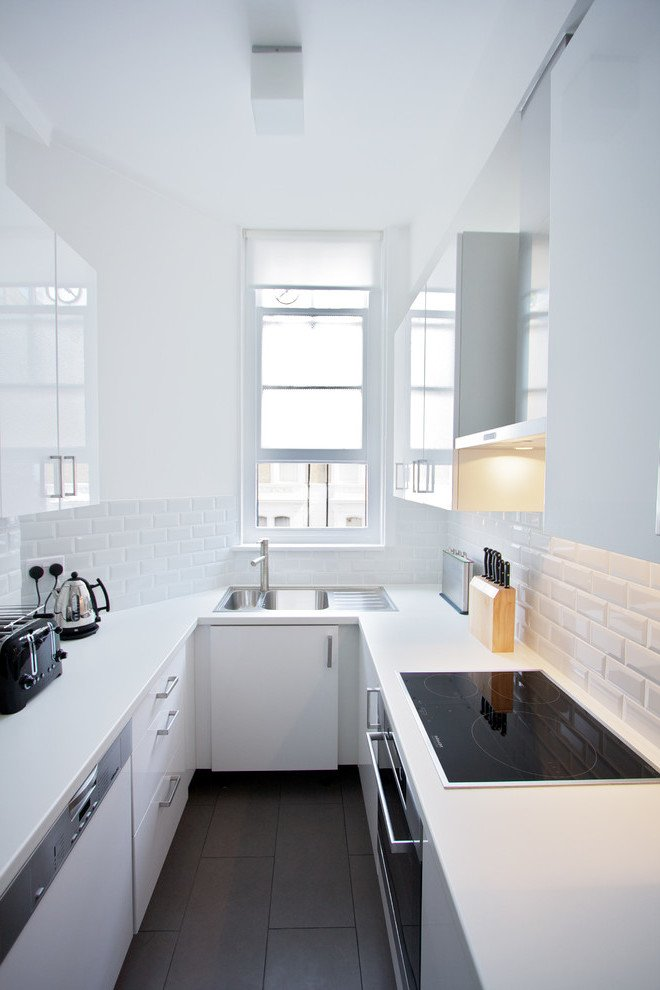 Berühmt Küchenplanung auf 12 m2 - Küche U Form ist der neue Platzwunder @SN_98