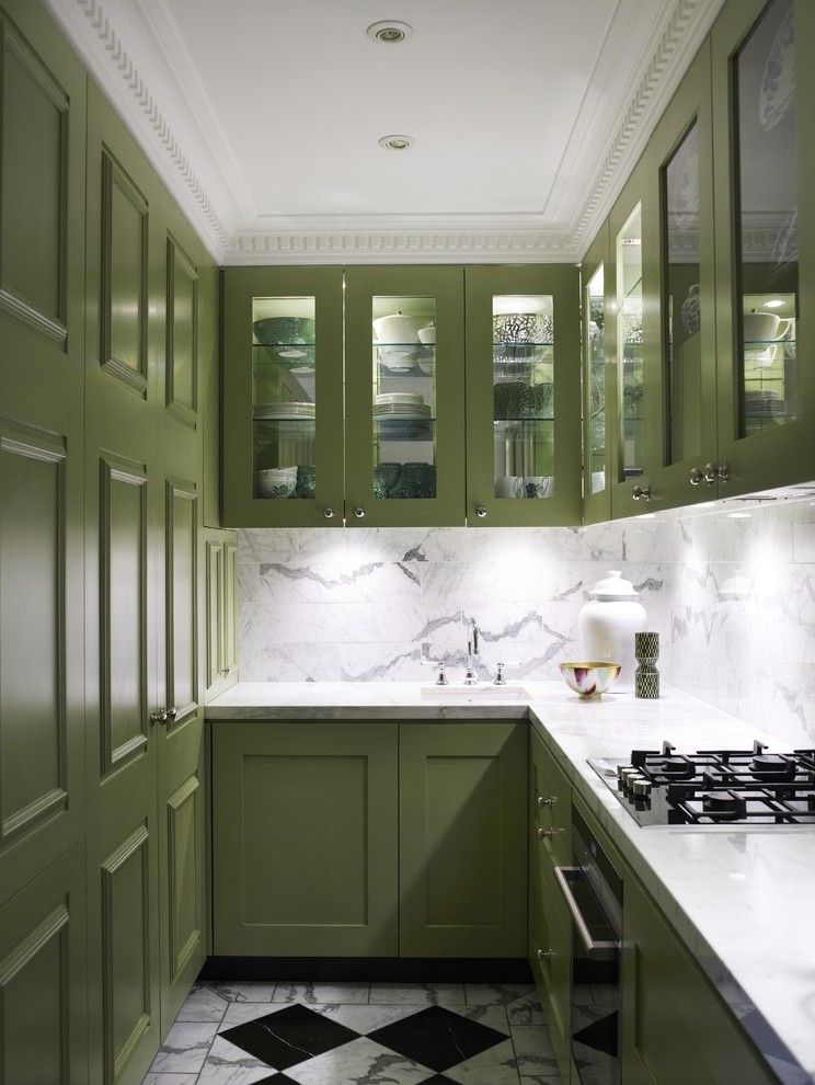 Moderne Küchen U Form Bilder für Inspiration
