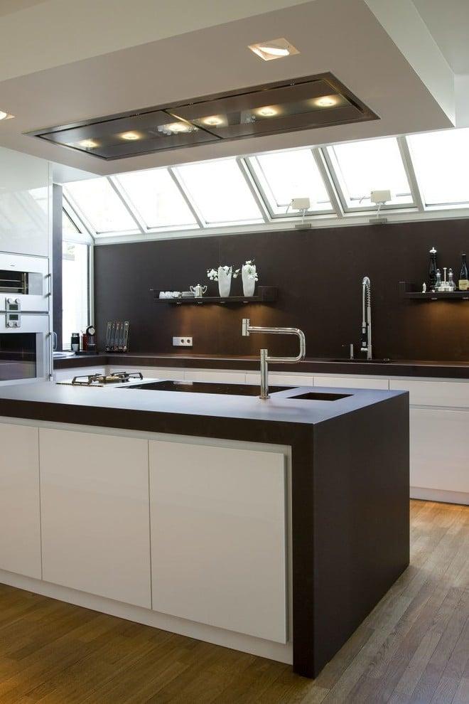 Küche U Form mit Insel