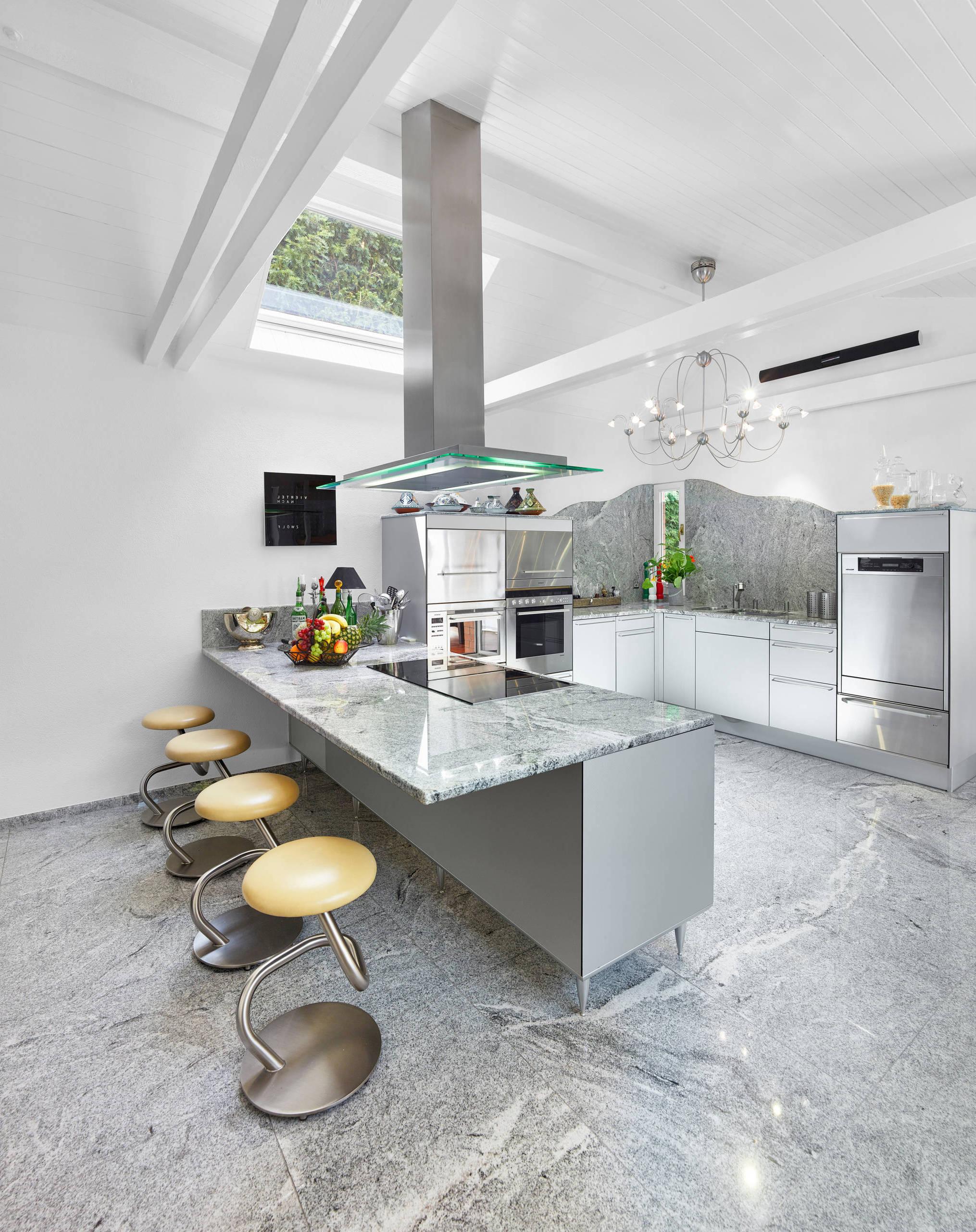 U Form Küchen modern - Einrichtungsideen