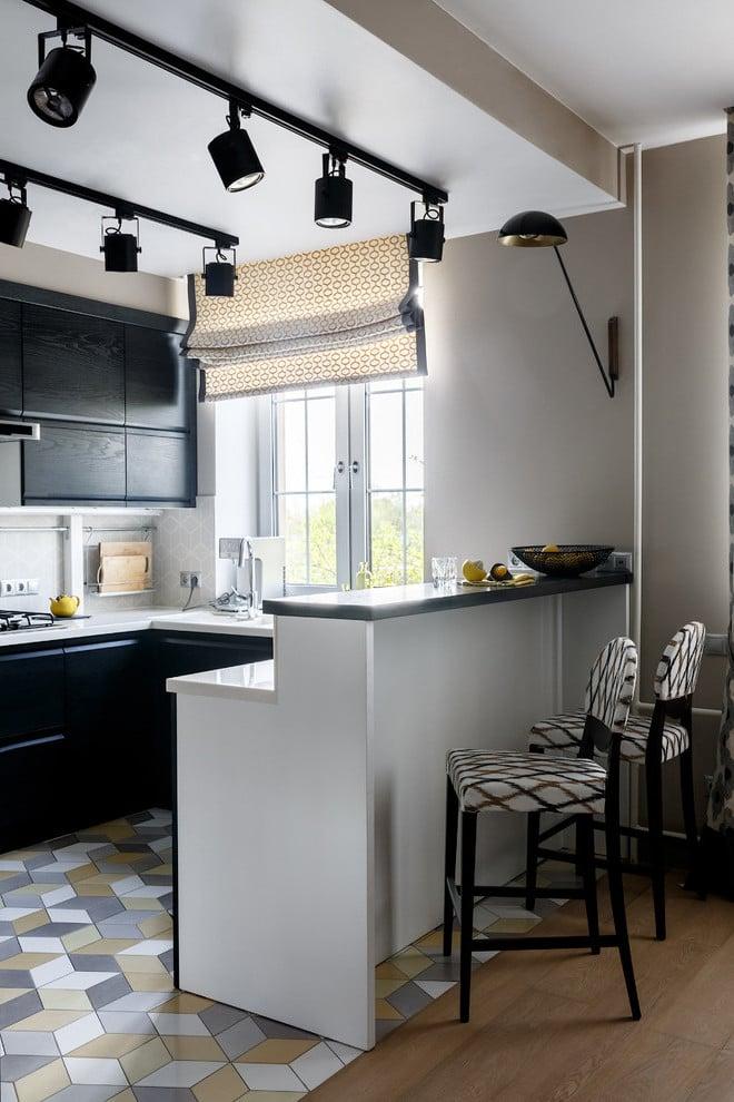 Küchen in U form sind das neueste Trend für kleine Wohnungen