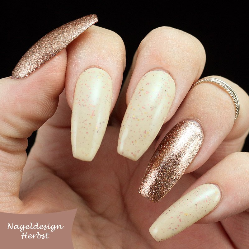 Nageldesign Herbst in Nude-Nuancen