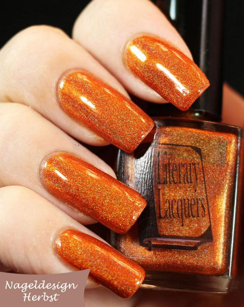 Nageldesign Herbst: Die beste Unterlage für ein wunderschönes Fingernagel Design für Halloween