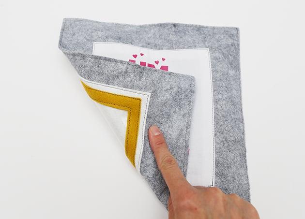 Das stille Buch Binden DIY Anleitung