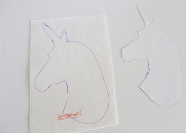 DIY Quiet Book: Einhorn aus Filz basteln mit Kindern