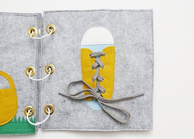 Quiet Book aus Filz Basteln mit Kindern