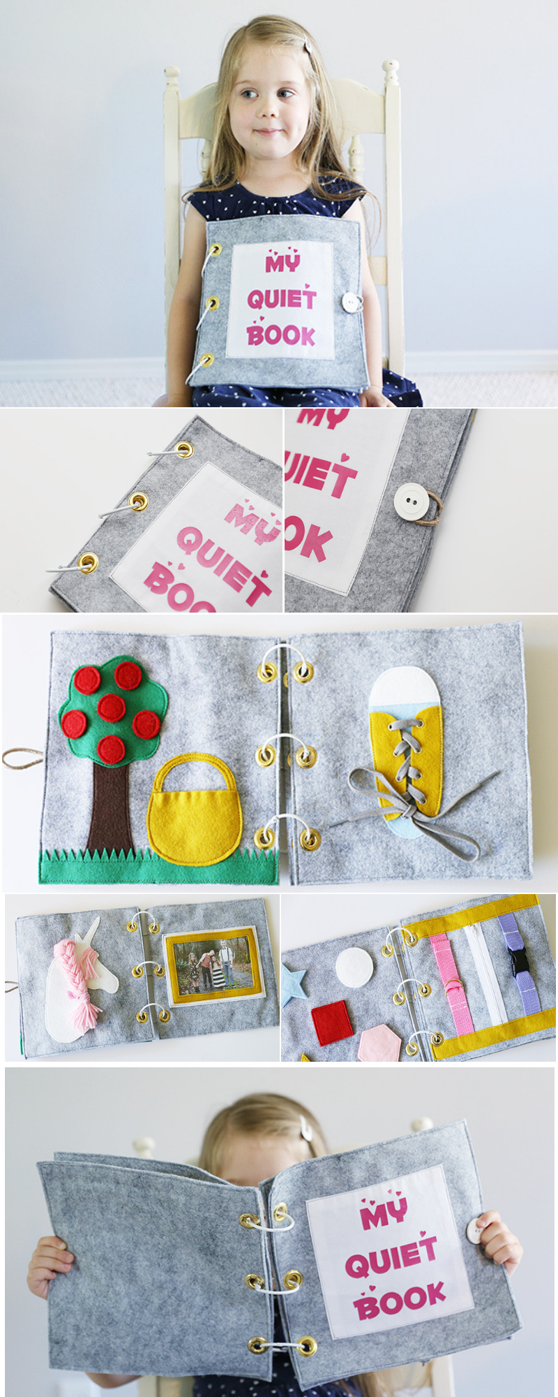 DIY Quiet Book für Kinder