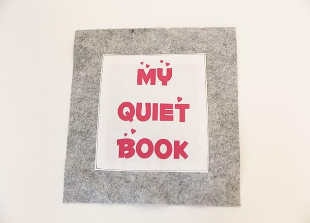 Basteln Sie ein Quiet Book für Ihr Kleinkind
