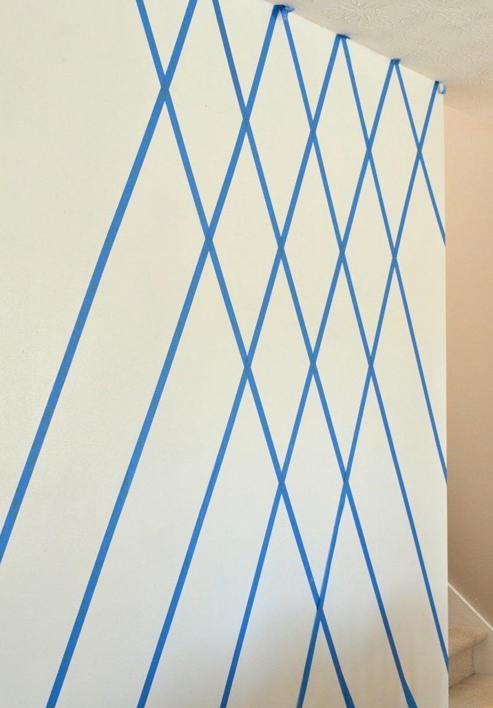 DIY Wohnzimmer Ideen Wandgestaltung