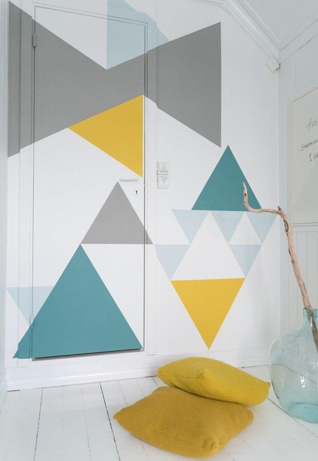 Kreative Wandgestaltung Wohnzimmer - Welche Möglichkeiten gibt es?