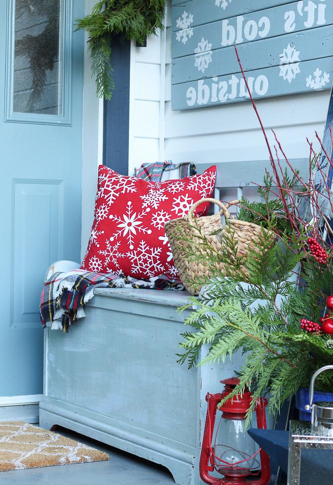 Tolle Ideen für Weihnachtsdeko draußen