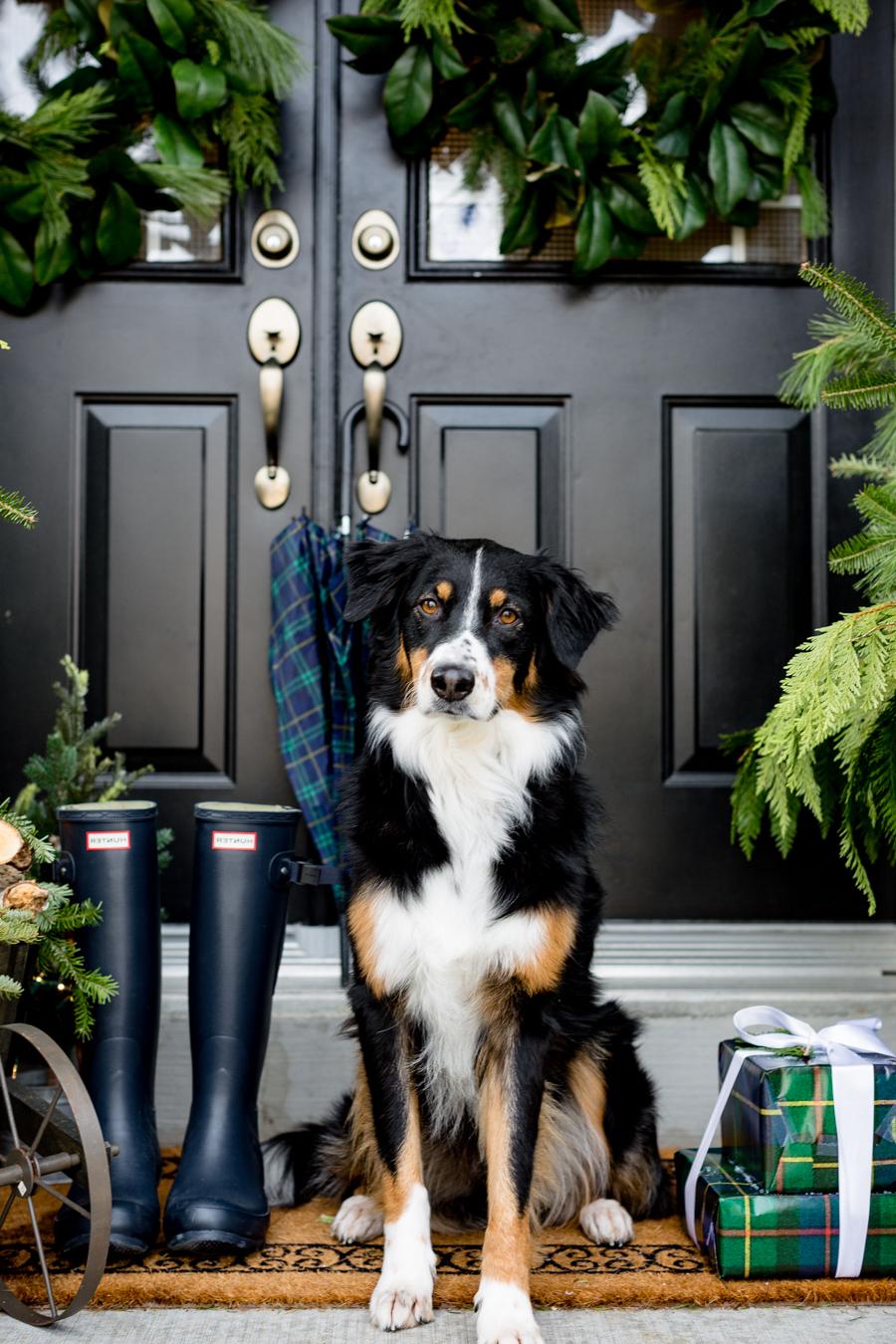 Verpassen Sie Ihrer Veranda einen festlichen Anstrich mit der richtigen Weihnachtsdeko draußen