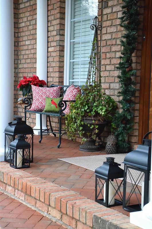 Weihnachtsdeko draußen: Wunderschöne Ideen für die Veranda