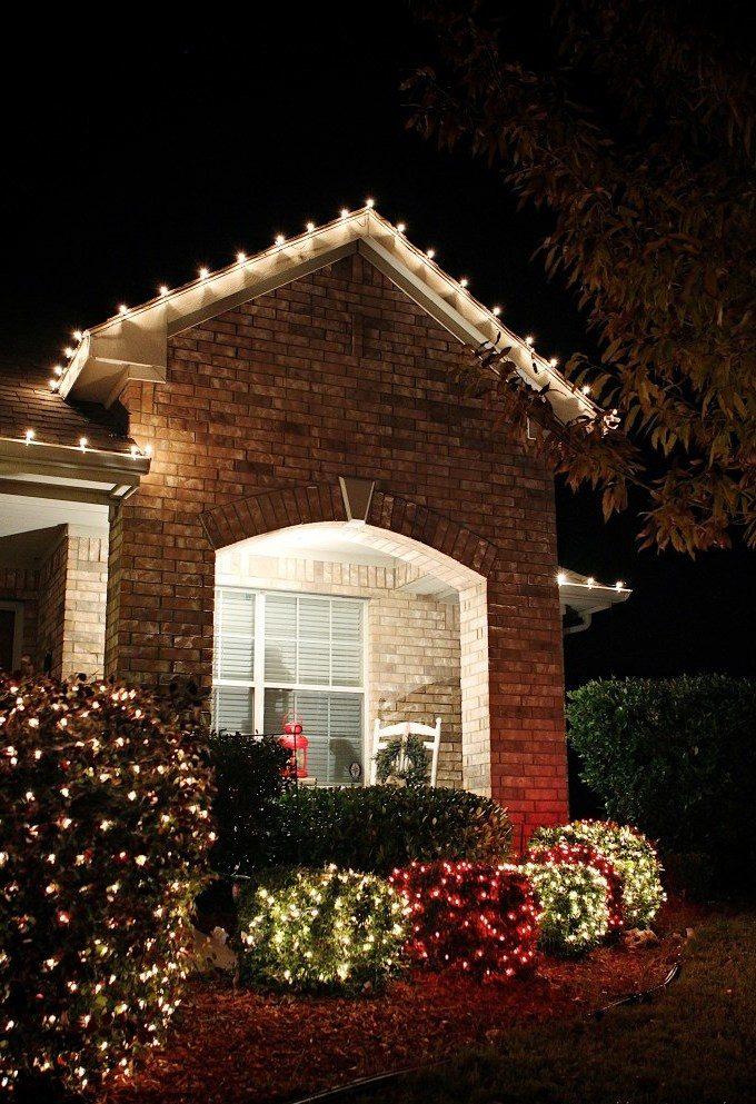 Ideen für Weihnachtsbeleuchtung für außen