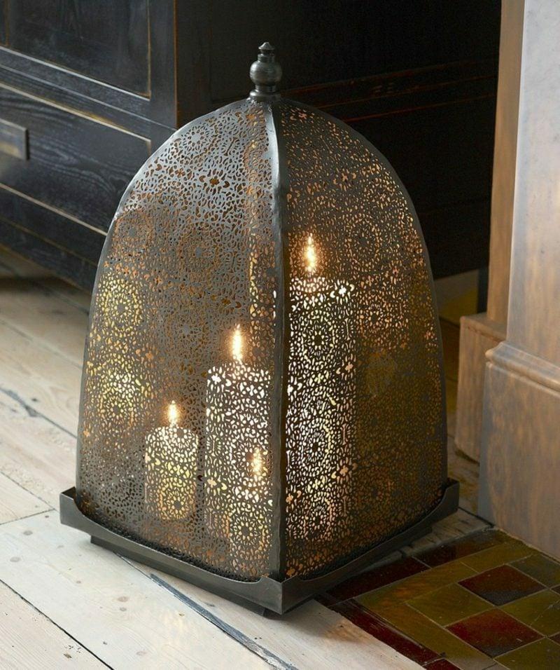 orientalische Lampen Kerzenlampe romantisch