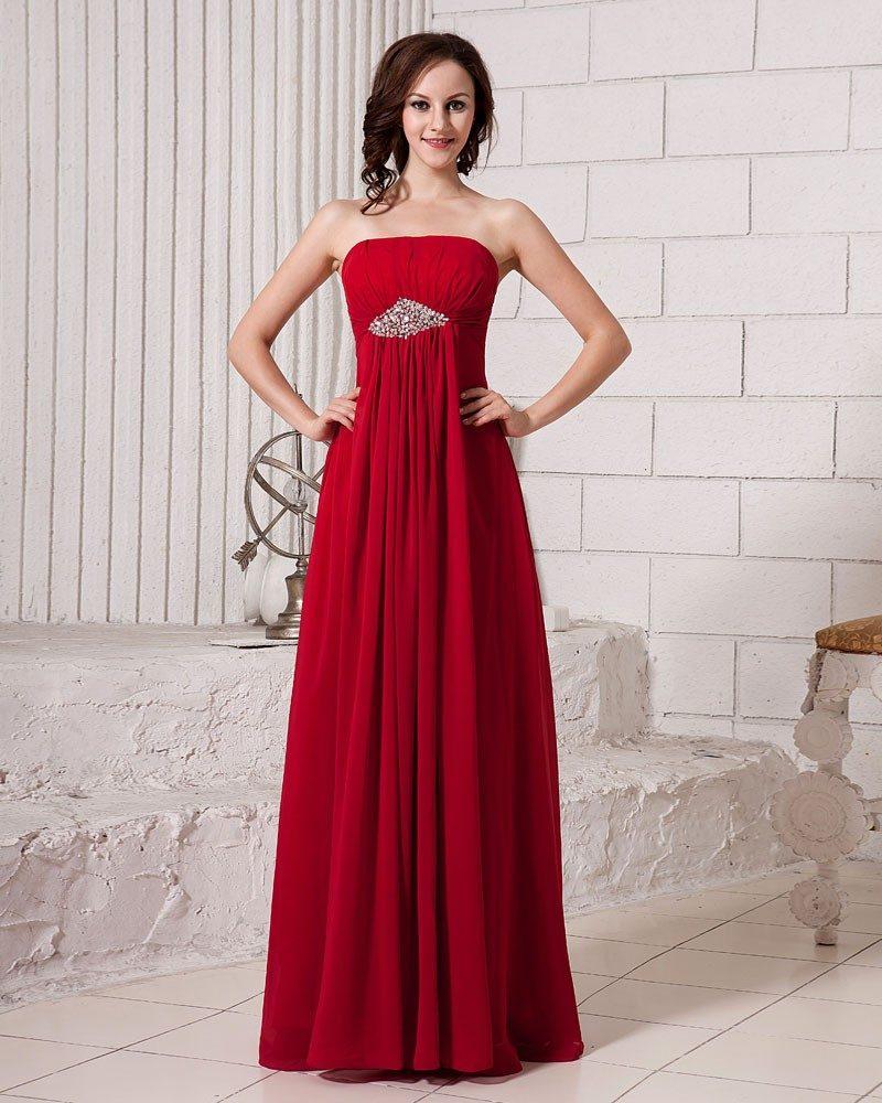 rote Brautkleider geradlinig super elegant