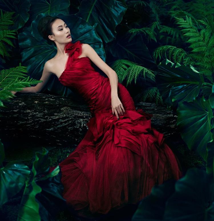 rote Brautkleider schulterfrei wirklich stilvoll
