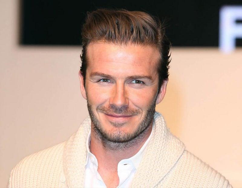 Seitenscheitel richtig stylen David Beckham