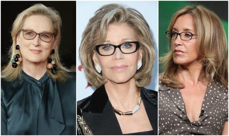 Frisuren 50 plus tolle Ideen für Brillenträgerinnen