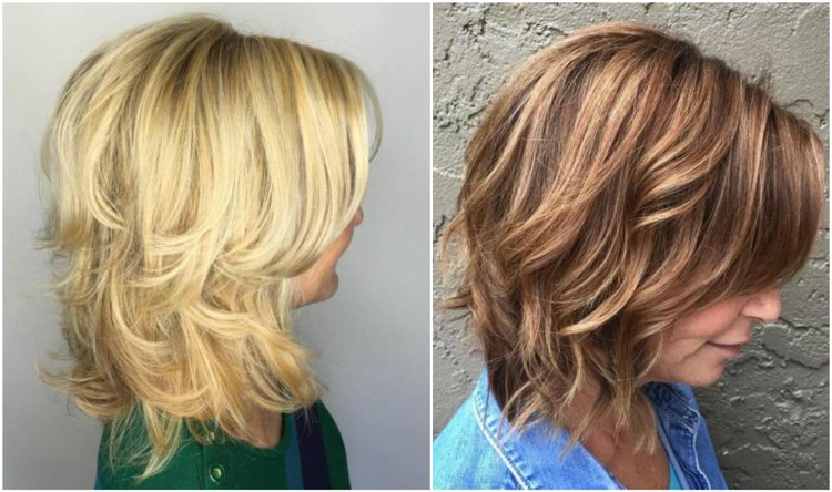 Frisuren 50 plus mittellang gestyft