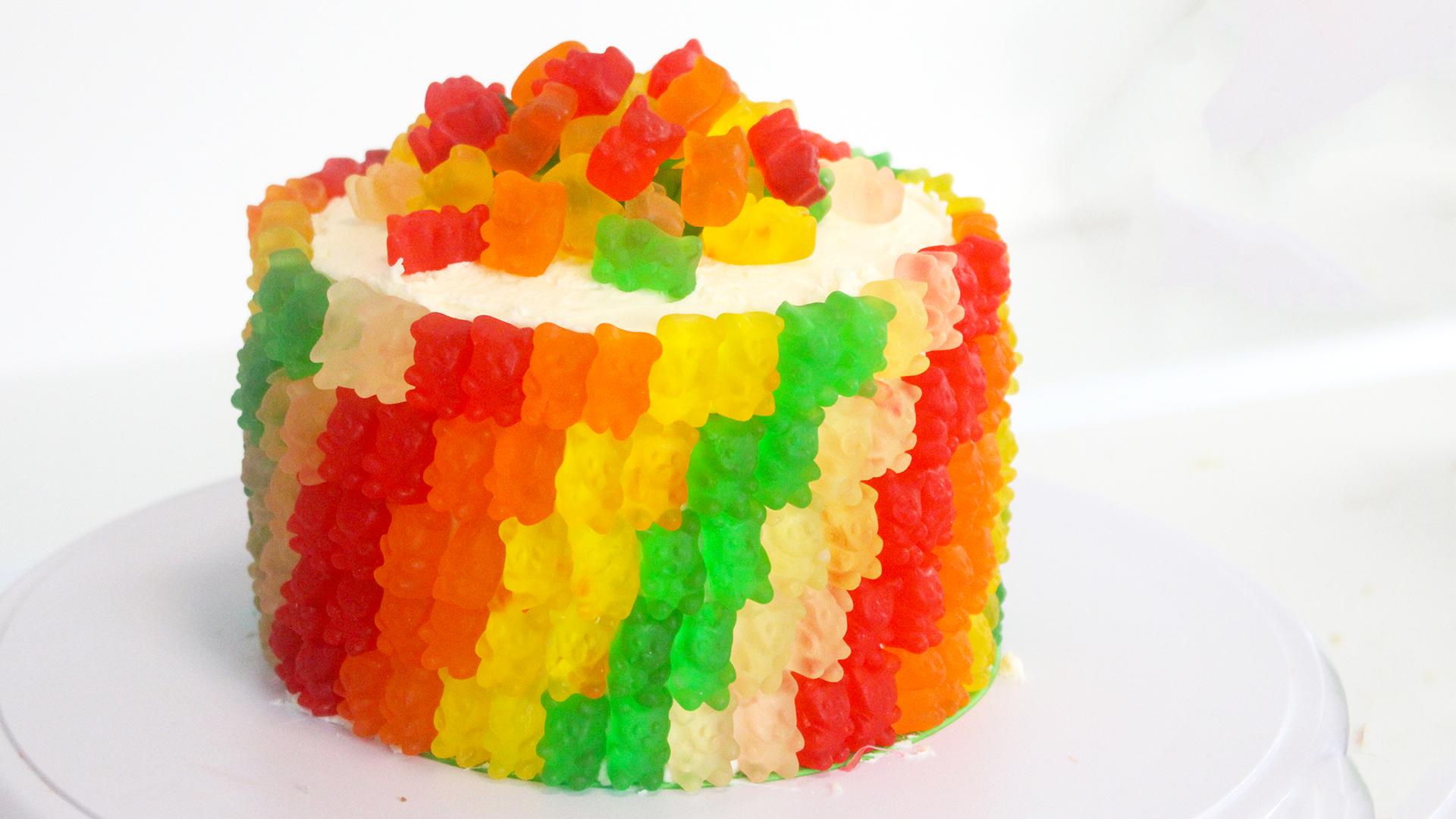 Gummibarchen Torte Faszinierende Idee Zum Kindergeburtstag