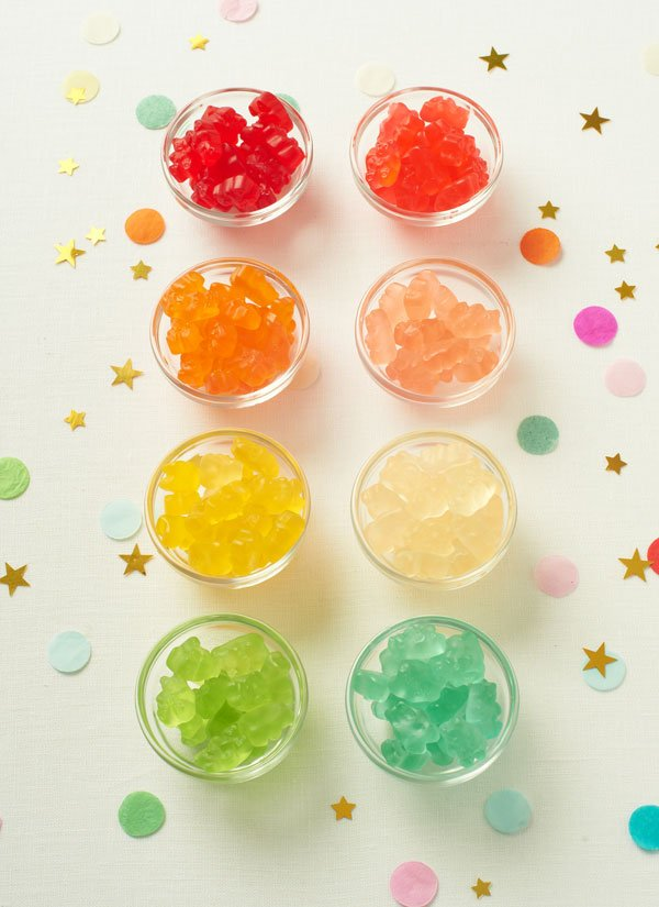 Gummibärchen Torte faszinierende Ideen Kindergeburtstag