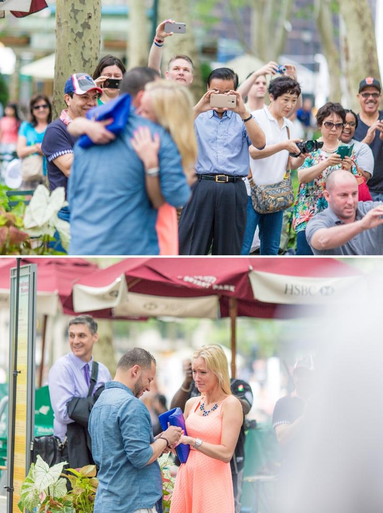 Hochzeitsantrag Flashmob öffentlich
