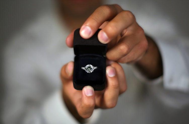 Hochzeitsantrag ist der Ring ein Muss