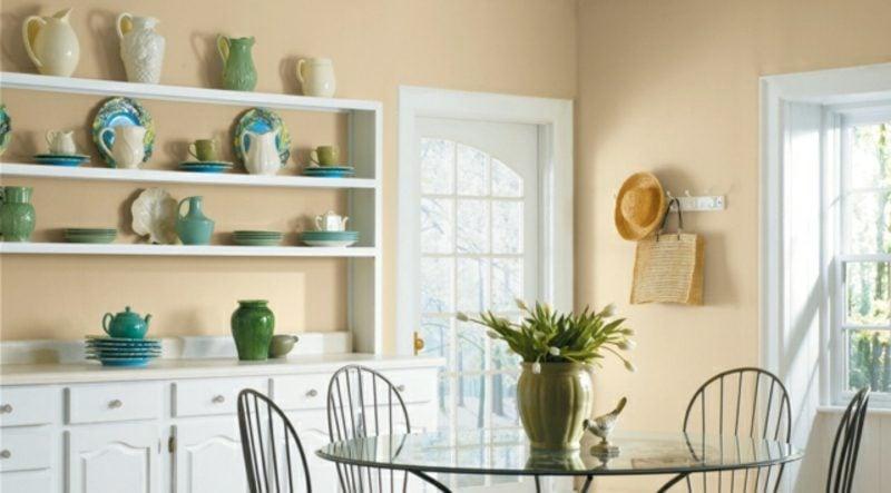 Küche streichen - Ideen und Anregungen für tolle Wandfarben