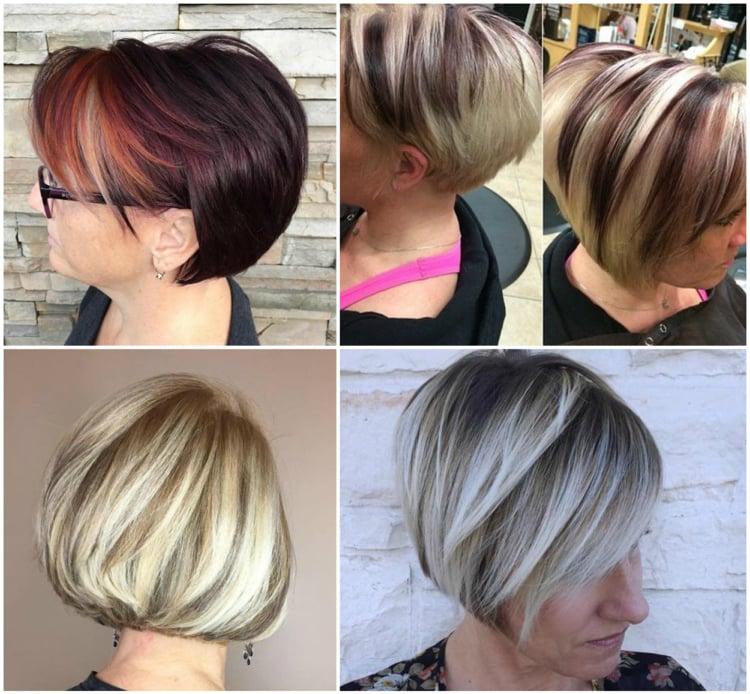 Frisuren 50 plus tolle Ideen für kurzes Haar