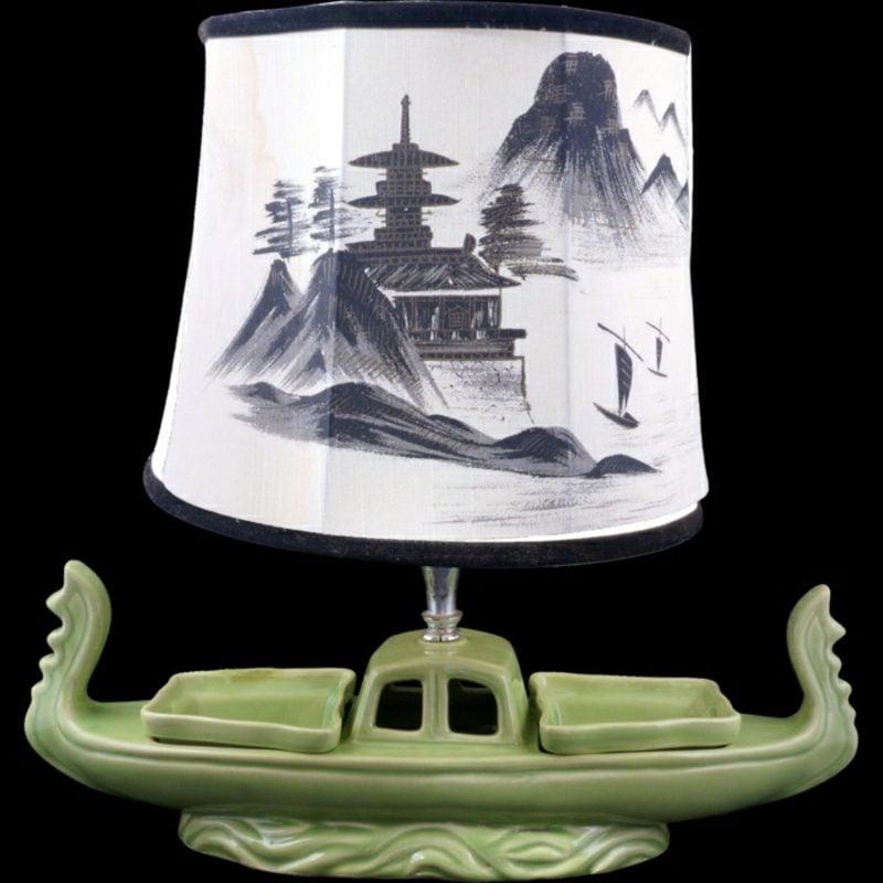 orientalische Lampen aiatisch Porzellan