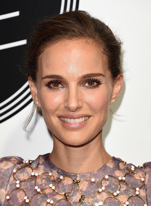 braune Augen schminken Natalie Portman