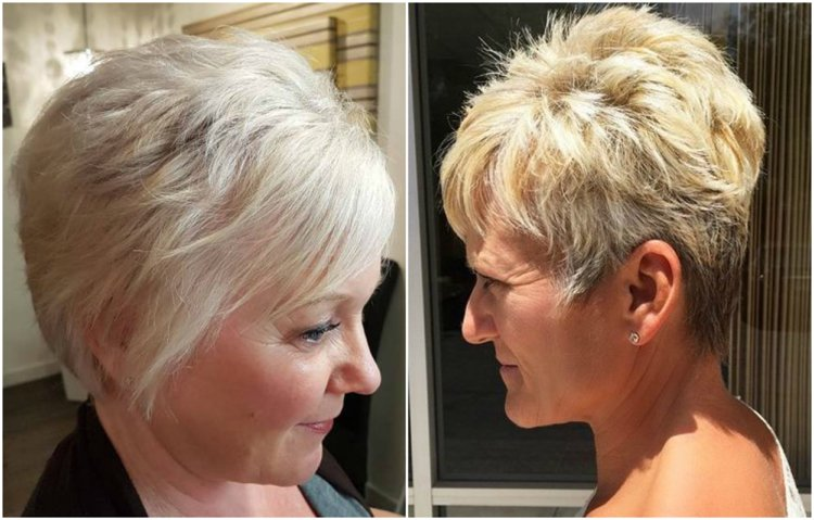 Frisuren 50 plus Pixie Cut praktisch