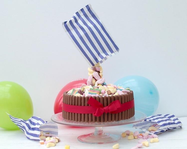 Gravity Cake Süßigkeiten Tüte