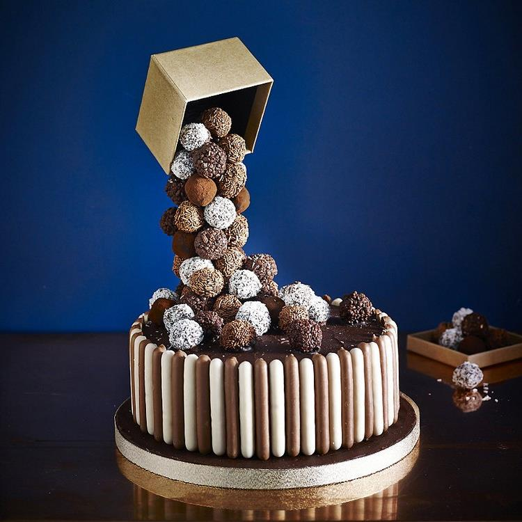 Gravity Cake Schikokugeln Schachtel