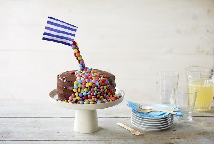 Gravity Cake Bonbons Verpackung originell