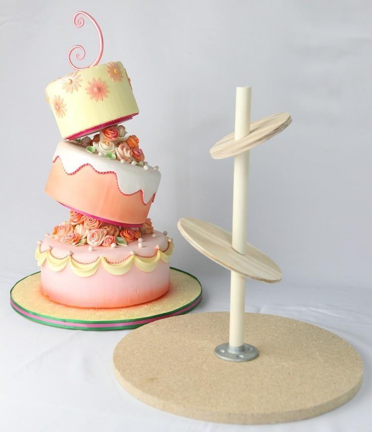 Gravity Cake zubereiten spezielle Konstruktion