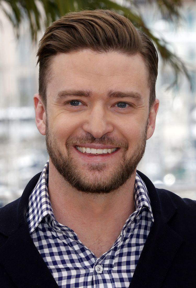 Seitenscheitel richtig stylen Undercut Justine Timberlake
