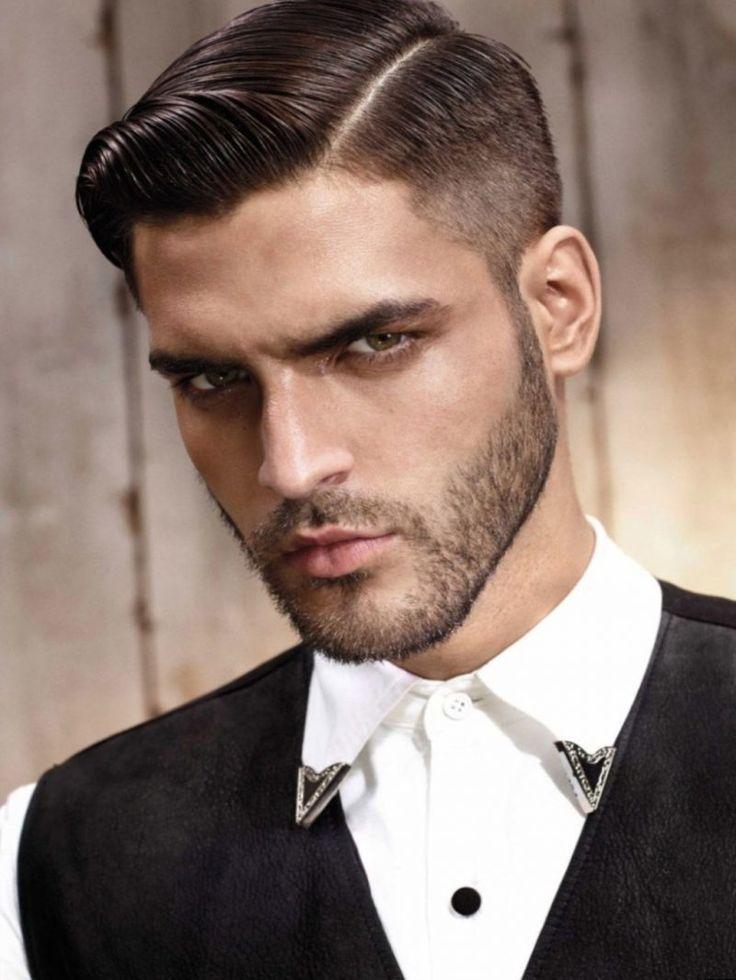 Seitenscheitel richtig stylen Frisur mit Tolle Mann