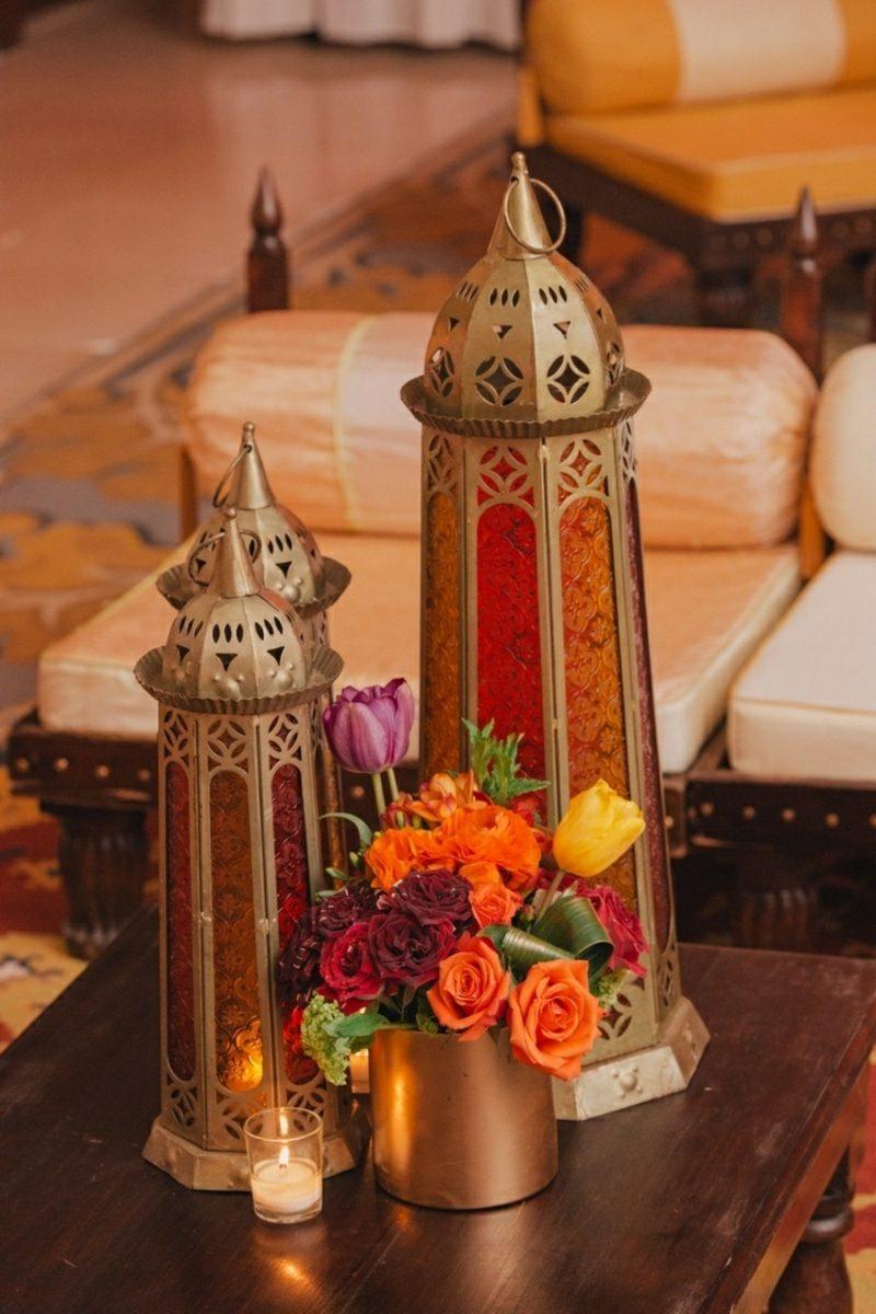 orientalische Lampen Boden und Tischlampen