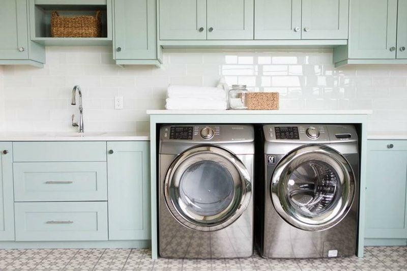 Waschmaschinen Und Trockner übereinander Schrank – Wohn-design