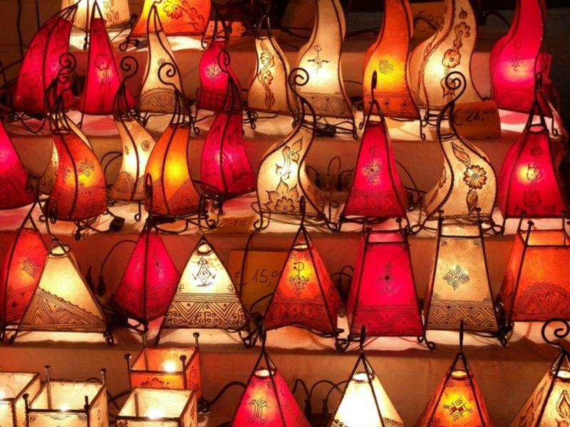 orientalische Lampen Henna Lampen