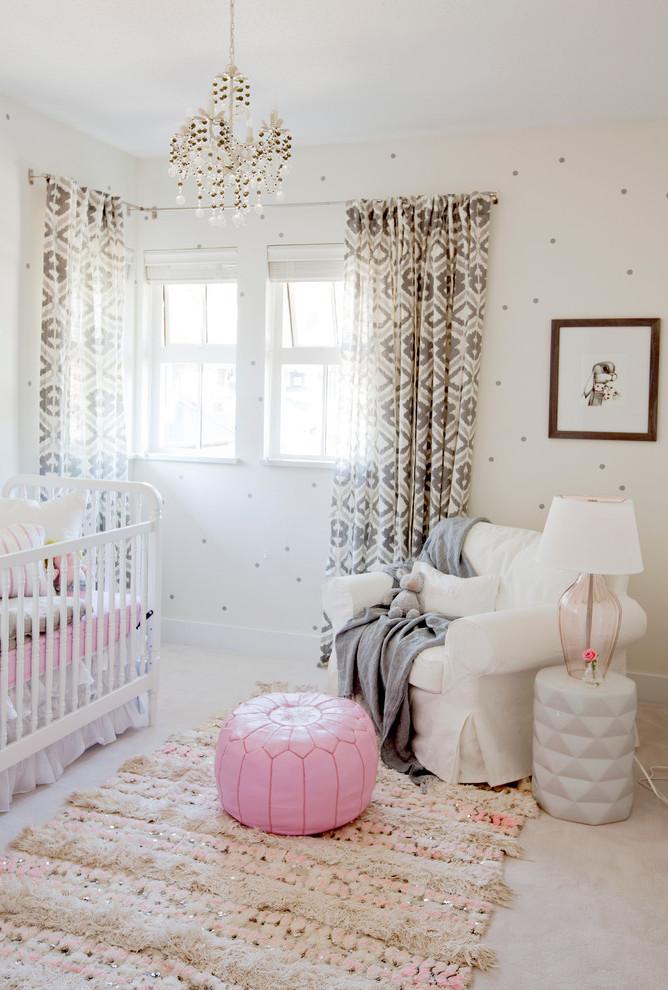 Babyzimmer Mädchen - Einrichtungsideen und Gestaltungstipps