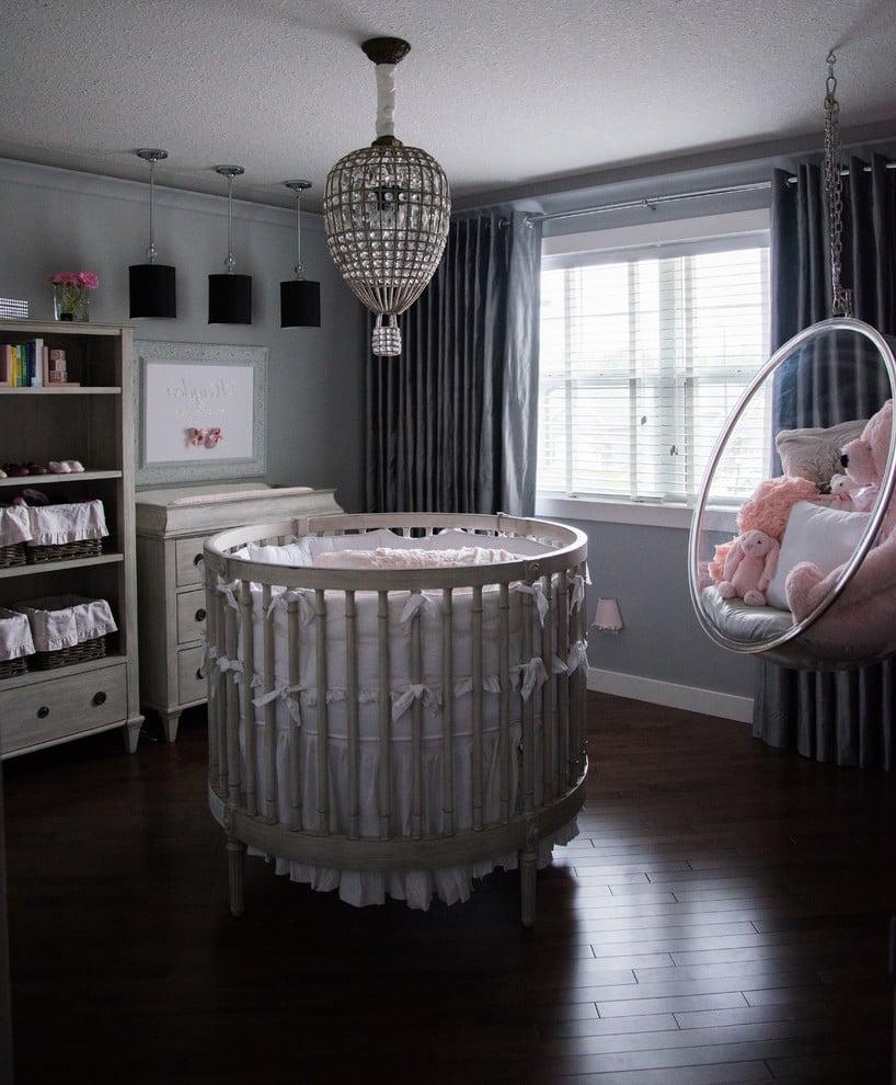 Babyzimmer Mädchen modern gestalten